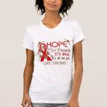 Movimientos de la cinta de la flor de la esperanza
