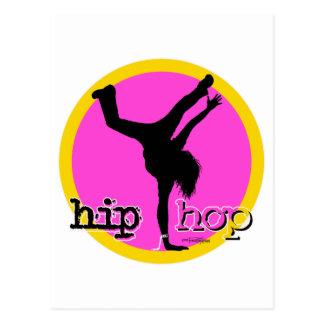 Movimientos de la danza de HIP HOP Postales