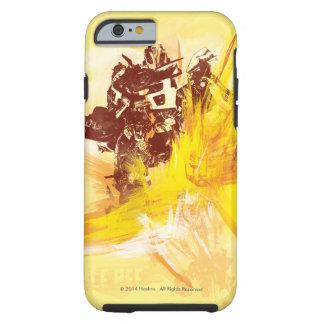 Movimientos de la pintura del abejorro funda de iPhone 6 tough