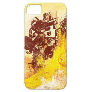 Movimientos de la pintura del abejorro funda para iPhone SE/5/5s
