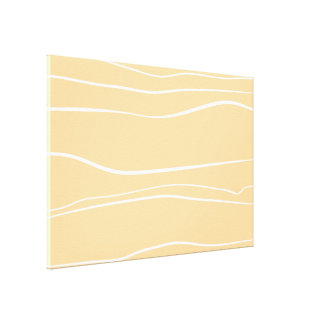Movimientos del cepillo de la crema w lienzo envuelto para galerías