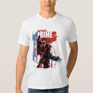 Movimientos del cepillo de la prima de Optimus Camisas