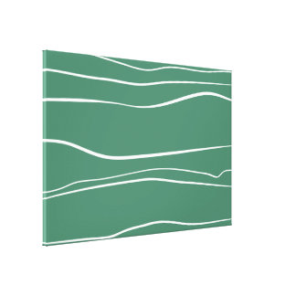 Movimientos verdes del cepillo del w impresión en lona