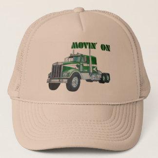 Movin' On Kenworth Trucker Hat