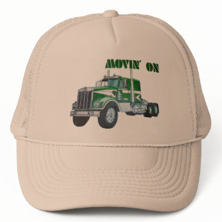Movin' On Kenworth Trucker Hat