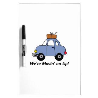 Movin' On Up! Dry-Erase Whiteboard