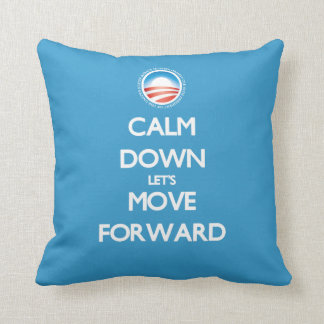 Moving America Forward Throw Pillow