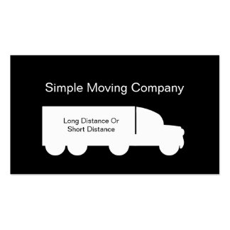 Moving And Storage Business Cards