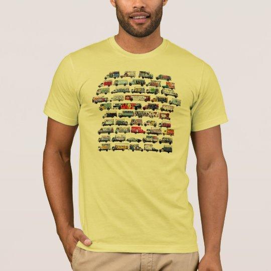 Moving Canvases: Bay Area Graffiti Trucks T-Shirt
