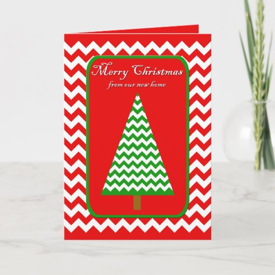 moving christmas card change of address
