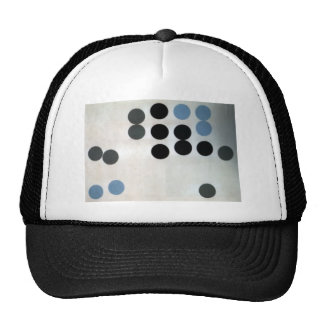 Moving Circles by Sophie Taeuber-Arp Trucker Hat