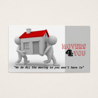 Moving Co. Business Card