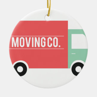 Moving Co. Ceramic Ornament