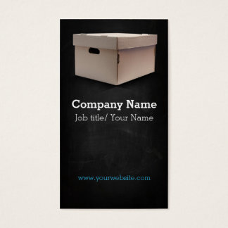 Moving company/Box/Boxes/Cardboard company Business Card