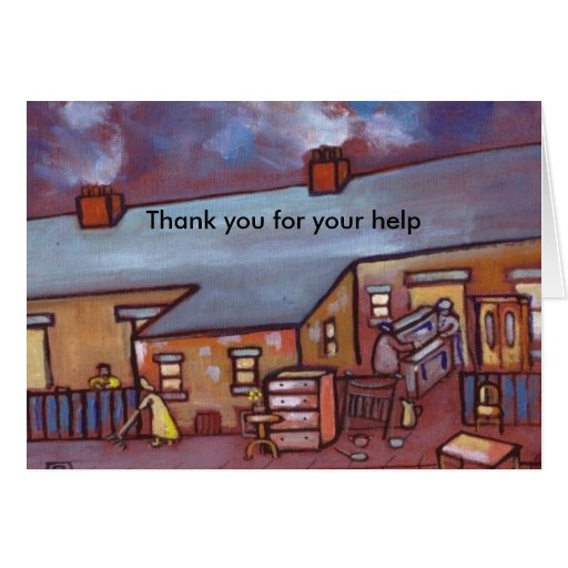 MOVING DAY GREETING CARDS