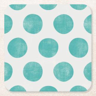 Moving Energetic Powerful Adventurous Square Paper Coaster