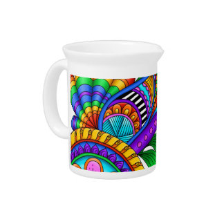 Moving Fast Drink Pitcher
