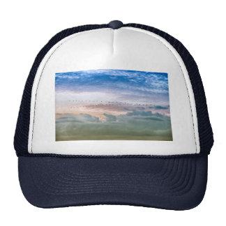 Moving Forward Bird Migration Team Inspiration Trucker Hat