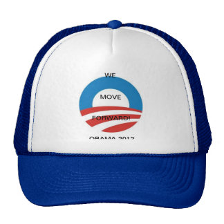 MOVING FORWARD FOR 2012 TRUCKER HAT