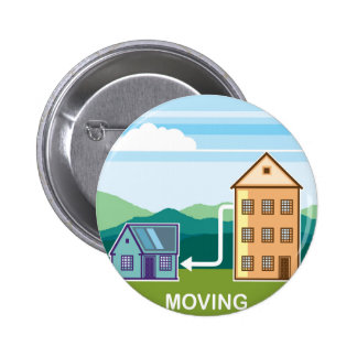 Moving From apartment into the House Pinback Button