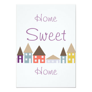 Moving Home House warming Party Card
