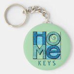 Moving Home Keychain