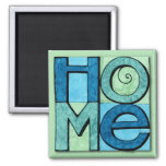 Moving Home Magnet