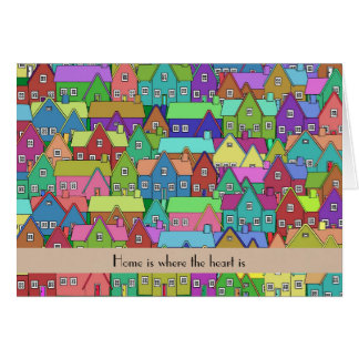 Moving House New Home personalized Greeting Card