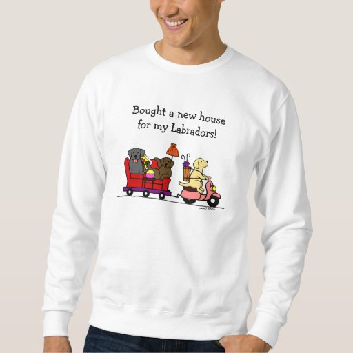 Moving Labradors Sweatshirt