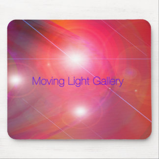 Moving Light Gallery Mouse Pad