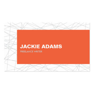 MOVING LINES No. 4 Business Card