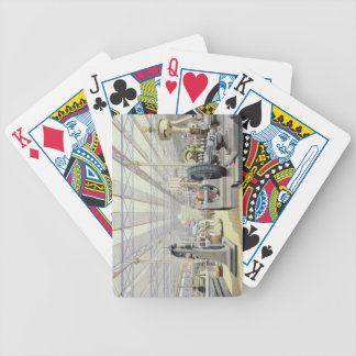 Moving Machinery, from 'Dickinson's Comprehensive Bicycle Playing Cards
