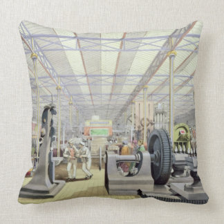 Moving Machinery, from 'Dickinson's Comprehensive Throw Pillow