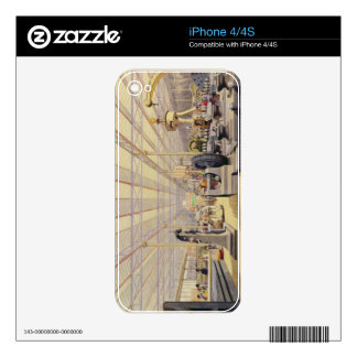 Moving Machinery, plate 49 from 'Dickinsons' Compr iPhone 4S Skin