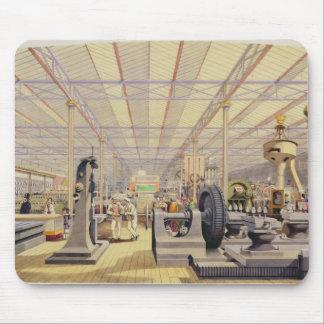 Moving Machinery, plate 49 from 'Dickinsons' Compr Mouse Pad