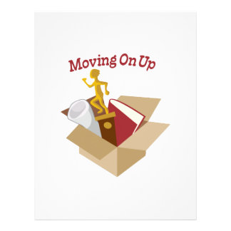 Moving On Up Letterhead Template