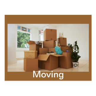 Moving Post Card