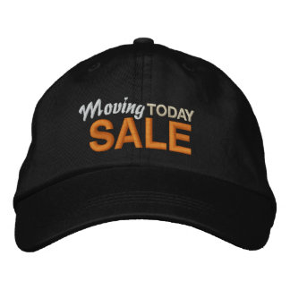 Moving Sale Today Baseball Cap