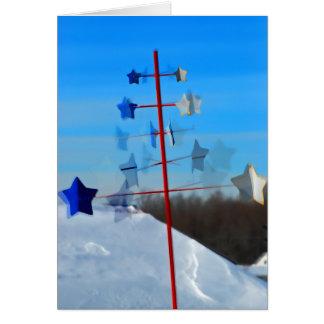 Moving Stars Card