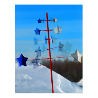 Moving Stars Postcard