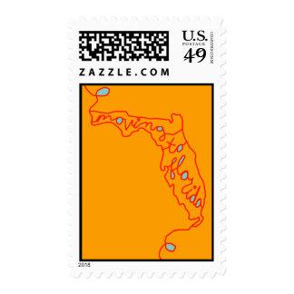 moving to florida postage stamp