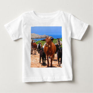 Moving to goal and success goats flock t shirt