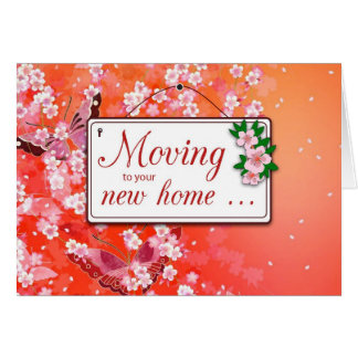 Moving to New Nome Stationery Note Card