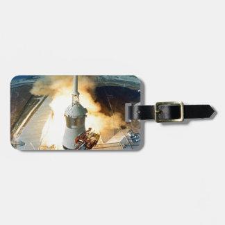 moving to success Apollo eleven  11 Launch Luggage Tag