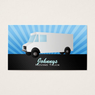 Moving Truck Business Cards
