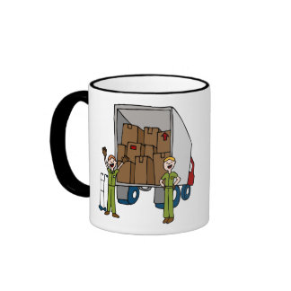 Moving Truck Men Mug