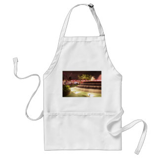 moving water abstract lights picture fountain adult apron