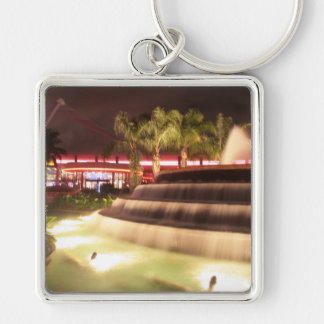 moving water abstract lights picture fountain keychain