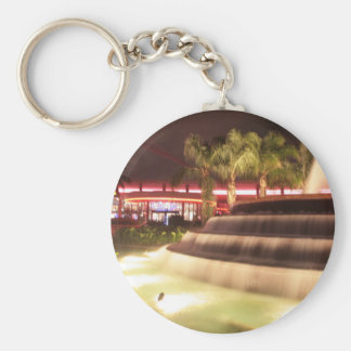 moving water abstract lights picture fountain key chain