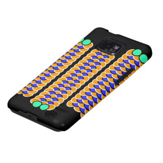 Moving Worms - Optical illusion Samsung Galaxy SII Cases